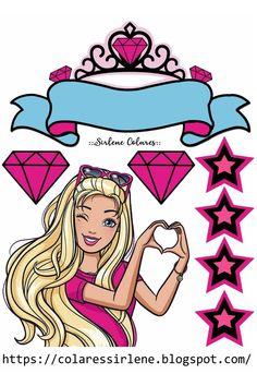 Bolo Barbie Paris, My Little Pony Characters, Disney Characters, Fictional Characters, Lol Doll Cake, Barbie Cartoon, Barbie Images, Barbie Party, Paper Cake