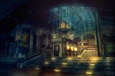 Bioshock Concept Art - Rapture Station