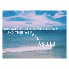 March to the Sea by twenty one pilots - this would be better if it wasn't so bright.