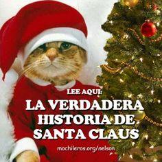 http://mochileros.org/nelson/quien-es-santa-claus/ Lee el artículo y descubre quién es realmente Santa Claus #Santaclaus #Sinterklaas #SanNicolas #ViejitoPascuero #Mikulas #Navidad #PapaNoel