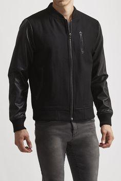 Standard Issue by Hyden Yoo Wool Varsity Jacket
