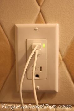 How to install a USB port  wall outlet