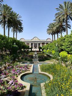 Narenjestan, Shiraz, Iran Iran Pictures, Persian Architecture, Landscape Architecture, Shiraz Iran, Persian Garden, Iran Travel, Paradise Garden, Ancient Persia, Persian Culture