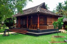 Home interior traditional layout 28 Trendy Ideas Kerala Traditional House, Traditional House Plans, Bamboo House Design, Kerala House Design, Indian Home Design, Thai House, Village House Design, Village Houses, Style At Home
