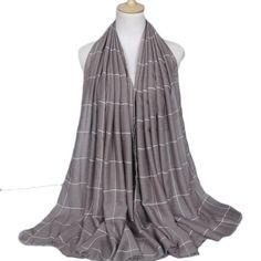 2018 Hot Sale Autum Women's Scarf Top Quality Winter Scarf Female Plaid Scarves Designer Basic Shawl Female Warm Ladies Scarfs F25