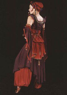 'Khadija Bodice' (back side), from Moresca Clothing & Costume. Visit their website here: http://www.moresca.com/intro.php?osCsid=0ecs6hutjmpdndbbro3hjrnav1
