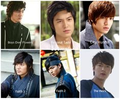 The Hair Makes the Character: Lee Min Ho Edition