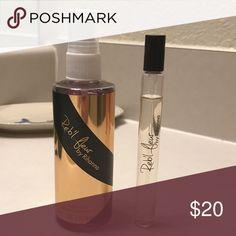 Reb'l Fleur by Rihanna bundle Body spray (unused) and purse spray used a few times Rihanna Makeup