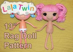 Links to blog all about Lalaloopsy which also has link to pattern for sale on Etsy