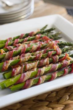 Bacon Wrapped Asparagus probably the only way to get me to eat asparagus
