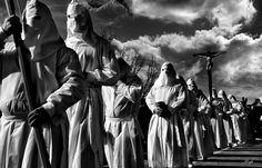 Atrapados por la imagen: Bercianos(Zamora), una de las procesiones española...