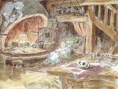 Le chateau ambulant Studio Ghibli
