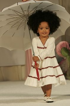 She looks like a little baby doll :) Natural Hair Kids | http://www.getfitglobal.com