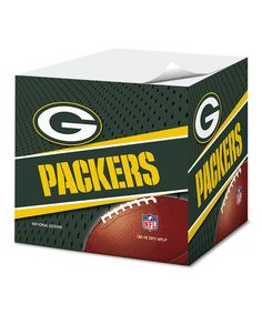 This Green Bay Packers Sticky Note Set by National Design is perfect! #zulilyfinds