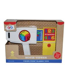 Fisher Price Movie Viewer by Fisher-Price ~ holy moly, they brought back the FP movie viewer!  I loved this thing as a kid!!!