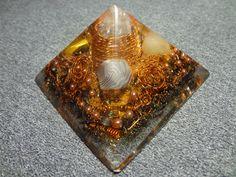 Spiral galaxy Orgone Pyramide Chakra Energy от OrgoneMadeInTheUral