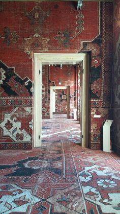 Rugs & carpets: The taste of Petrol and Porcelain | Interior design, Vintage Sets and Unique Pieces www.petrolandporcelain.com