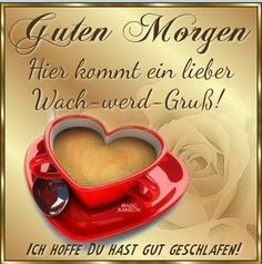 Wachwerd-Gruß Bubble, Picture Of Doctor, German Quotes, Coffee Images, Pineapple Images, Good Morning Coffee, Healthy Living Quotes, Good Morning Greetings, Bts Quotes