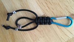 Paracord Hosen-/Taschenanhänger mit Initialien