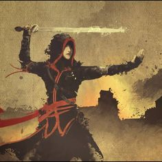 Comic Character, Game Character, Character Concept, Concept Art, Character Design, Video Game Anime, Video Games, Monk Dnd, Arte Assassins Creed