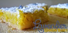 Lavender Lemon Bars are absolutely my new favorite dessert- easy and yummy too!  @allrecipes