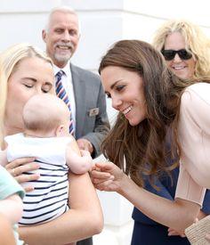 Kate Middleton Photos Photos - The Duke & Duchess Of Cambridge Visit Cornwall - Zimbio