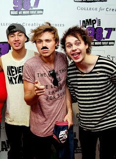 Calum , Ashton and Michael