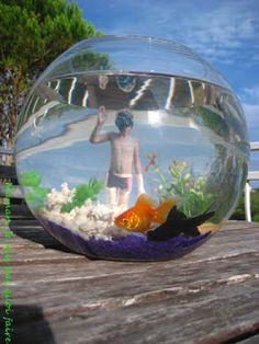 Décoration pour aquarium