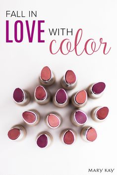 Fall in love with beautiful autumn lip hues like Limited-Edition† Mary Kay® Velvet Lip Crème in Naturally Chic, Oh So Currant, and Berry Stylish!