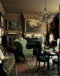 Untouched Since 1964 Bedfordshire Home Of Sir Albert Richardson A Leading English Architect Country Style Interior