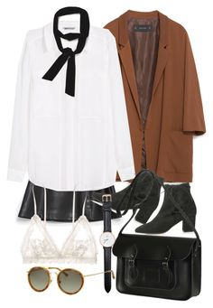 """""""Untitled #7651"""" by nikka-phillips ❤ liked on Polyvore featuring Zara, H&M, Topshop, Hanky Panky, The Cambridge Satchel Company, Daniel Wellington and Dries Van Noten"""