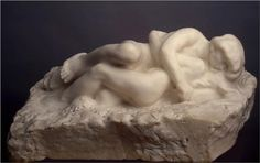 Cupid and Psyche,1905, Auguste Rodin. Hermitage, St. Petersburg, Russia. (I LOVE this piece).