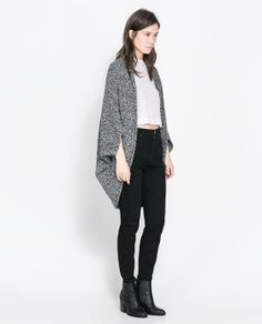 Image 1 of WRAP AROUND CARDIGAN from Zara