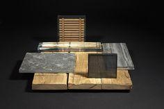 Sample Boards, Interior Design Presentation, Material Board, Board Ideas, Wood Design, Still Life, Collage, Mood, Projects
