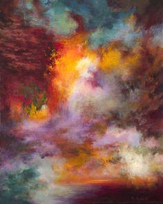"Saatchi Art Artist Rikka Ayasaki; Painting, ""Passions, 7026(Painted in 2012, 65x54cm) "" #art"