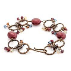 Marsala Love Bracelet | Fusion Beads Inspiration Gallery