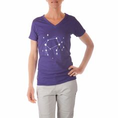 Constellation Short Sleeve V-Neck T-Shirt