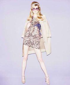 Karolina Mrozkova is Prim in Pastels for Elle Russia March 2012 #fashion trendhunter.com