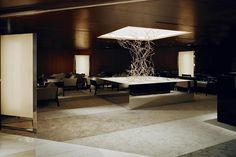 The Lobby Lounge in ANA Crowne Plaza hotel in Osaka by Curiosity