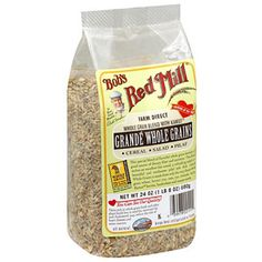 Bob's Red Mill Grande Whole Grain Blend With Kamut Khorasan Wheat Whole Grain Kernels, 24 oz  (Pack of 4)