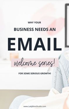 Why Your Business Needs an Email Welcome Series! For Some Serious Growth! It's so important to build a great first impression, and what better way to do so than with a well-thought-out welcome series? We walk you through why it is so beneficial for your business to have an email welcome series! Creating a welcome series is going to build a stronger relationship with your subscribers. It will even translate a few into higher paying customers – something we all want! #emailmarketing… Email Marketing Strategy, E-mail Marketing, Online Marketing, Social Media Marketing, Sales Strategy, Business Tips, Online Business, Business Quotes, Creative Business