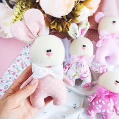 Mini loppy bunnies handmade doll bunny doll easter bunny rag doll bunny doll toddler child p – Artofit Rabbit Crafts, Bunny Crafts, Felt Crafts, Sewing Toys, Baby Sewing, First Sewing Projects, Handmade Soft Toys, Fabric Toys, Felt Toys
