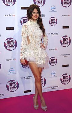 Selena Gomez Flaunts Legs & More at Puerto Rico Concert - Entertainment & Stars
