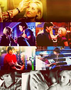 Smallville. Chloe Sullivan, Clark Kent. A true friendship I long admire both and love. Allison Mack/Tom Welling.