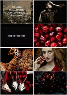 """""""She reigns upon her dusky throne, Mid shades of heroes dread to see; Among the dead she breathes alone, Persephone—Persephone! Persephone Costume, Hades And Persephone, Greek Gods And Goddesses, Greek Mythology, Anime Elf, Greek Pantheon, Lore Olympus, Aesthetic Collage, Character Aesthetic"""