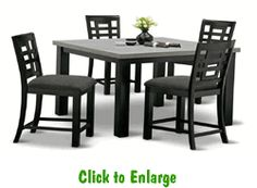 bella counter height 5 piece dinette at furniture warehouse the 399 sofa store nashville tn bar u0026 counter height sets pinterest
