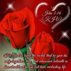 John 3:16 KJV www.celebrateyourfaith.com