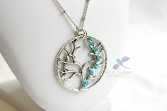 This Tree of Life Pendant measures just over inches and is on a 30 inch stainless steel chain. Glass beads securely wrapped with silver artisan wire. Handmade Jewelry, Unique Jewelry, Handmade Gifts, Tree Of Life Pendant, Jewelry Accessories, Pendant Necklace, Colour, Trending Outfits, Etsy
