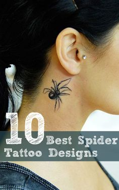 Spider Tattoo - if only I had enough money for it...