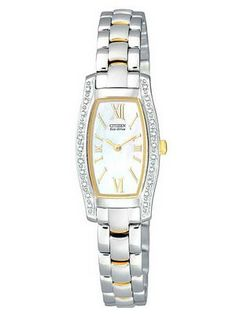 Get 53% off on  Citizen Eco-Drive Diamond Two-Tone EG2554-58D Womens Watch only for US $199.00